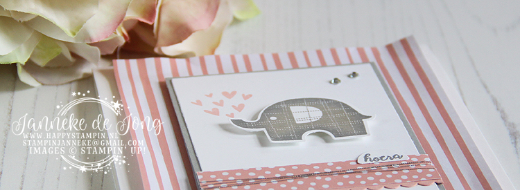 Stampin' Up! - Janneke de Jong - Little Elephant - Verkoop en Inspiratie van Stampin' Up!