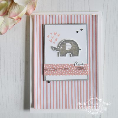 Stampin' Up! – Little Elephant – Global Design Project #146