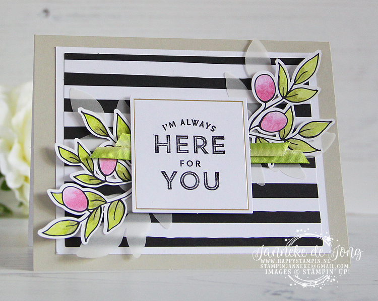 Stampin' Up! - Janneke de Jong - Lots of Love Happy Card Kit - Verkoop en Inspiratie van Stampin' Up!