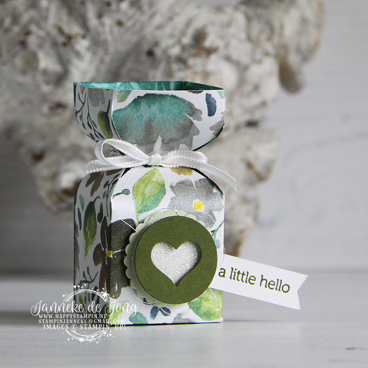 Stampin' Up! - Janneke de Jong - A little Hello - Itty Bitty Greetings