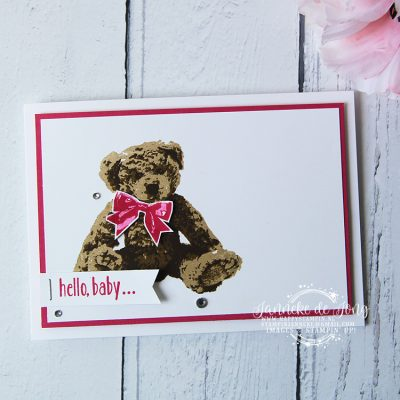 Stampin' Up! – Baby Bear – Happy Stars team bloghop