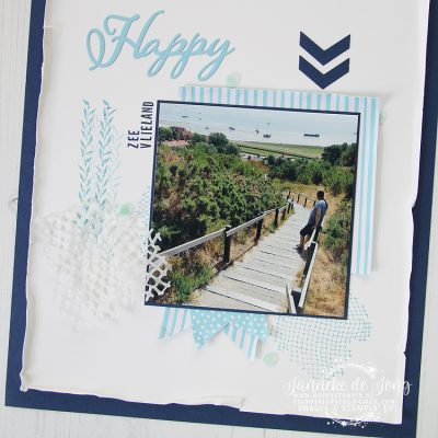 Stampin' Up! – Sea of Textures – Happy – GDP #151