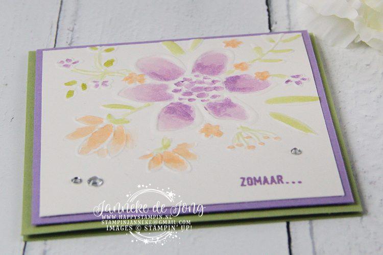 Stampin' Up! - Janneke de Jong - Lovely Floral Embossing Folder - Inspiratie en Verkoop van Stampin' Up!