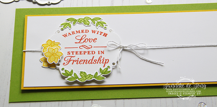 Stampin' Up! - Janneke de Jong - Time for Tea - Verkoop en Inspiratie van Stampin' Up! producten