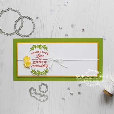 Stampin' Up! – Time for Tea – Warmed with Love