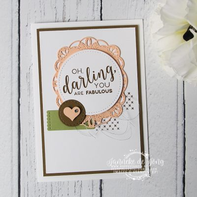 Stampin' Up! – Stitched all Around – Oh, Darling