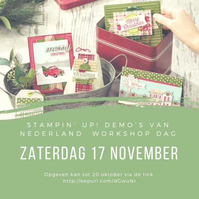 Stampin' Up! – Nederlandse demo workshop dag