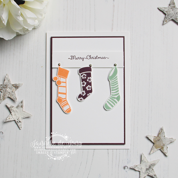 Stampin' Up! - Janneke de Jong - Hung with Care - Inspiratie en Verkoop van Stampin' Up!