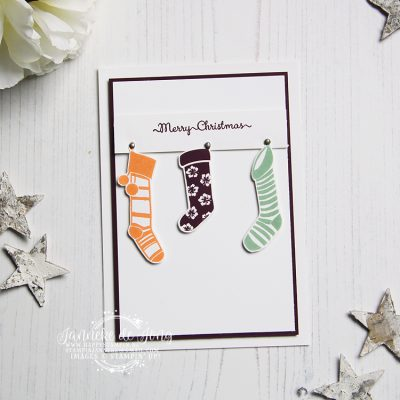 Stampin' Up! – Hung with Care – Merry Christmas