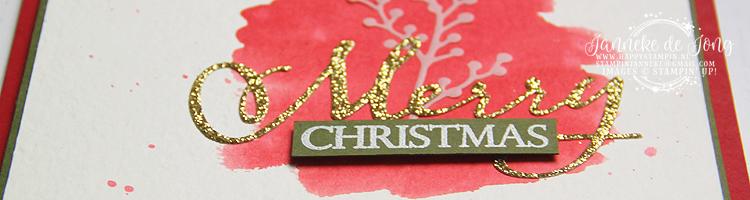 Stampin' Up! - Janneke de Jong - Merry Christmas to All - Inspiratie en Verkoop van Stampin' Up!