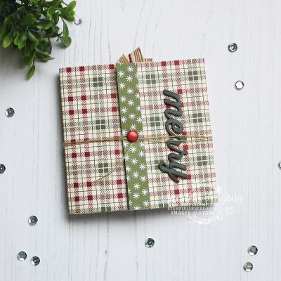 Stampin' Up! – Festive Farmhouse – Mini Album