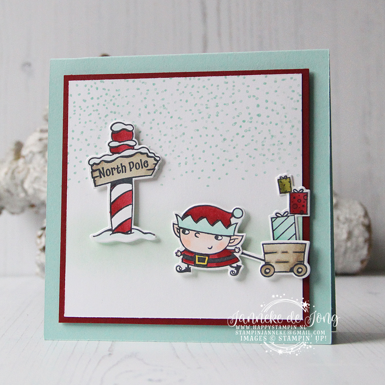 Stampin' Up! - Janneke de Jong - Signs of Santa - Verkoop en Inspiratie van Stampin' Up!