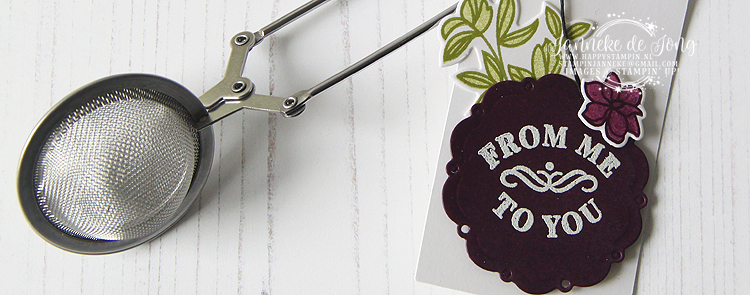 Stampin' Up! - Janneke de Jong - Time for Tea - Inspiratie en Verkoop van Stampin' Up!