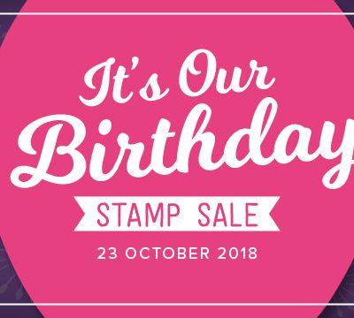 Stampin' Up! – 24 uur sale op 23 oktober ;-)
