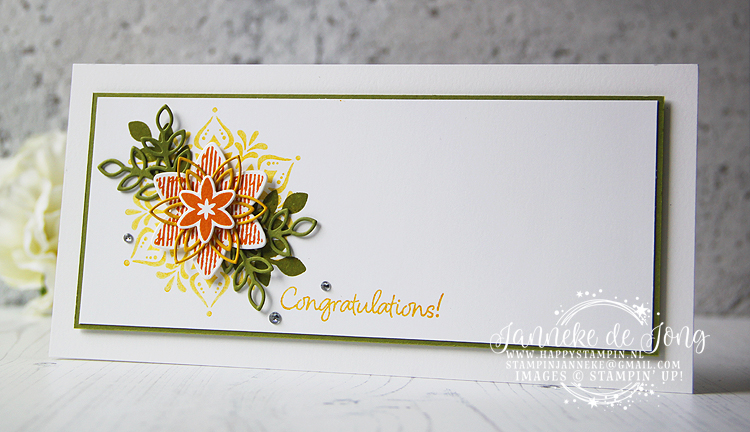 Stampin' Up! - Janneke de Jong - Happiness Surrounds - Inspiratie & Verkoop van Stampin' Up!
