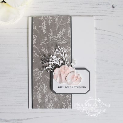 Stampin' Up! – First Frost – Tutorial Bundle bloghop