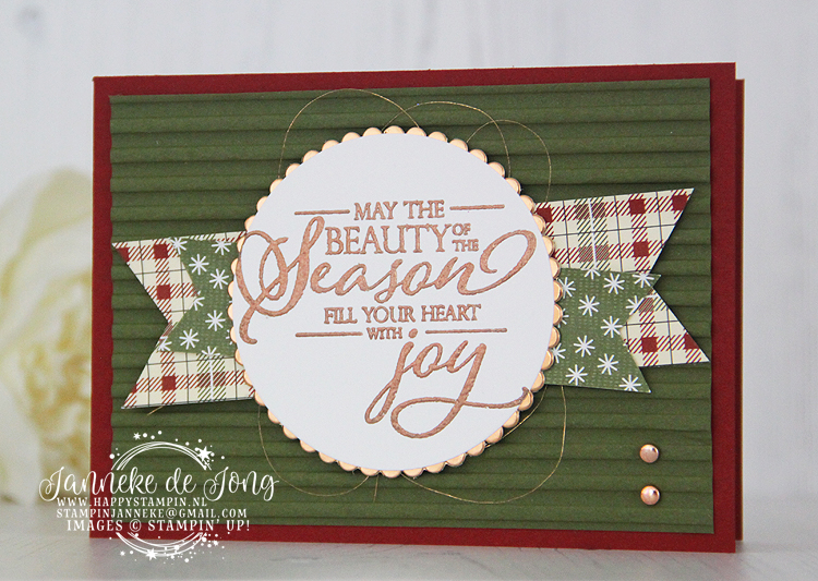 Stampin' Up! - Janneke de Jong - Merry Christmas to all - Inspiratie en Verkoop van Stampin' Up!
