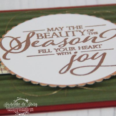 Stampin' Up! – Merry Christmas to all – May the beauty …