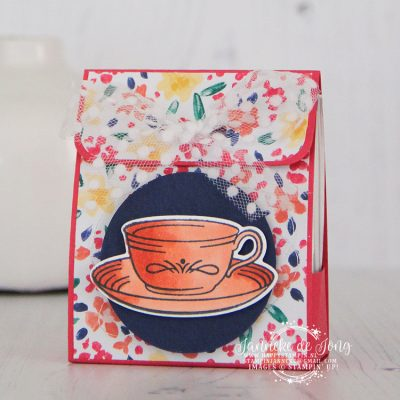Stampin' Up! – Time for Tea – Thee doosje met tutorial