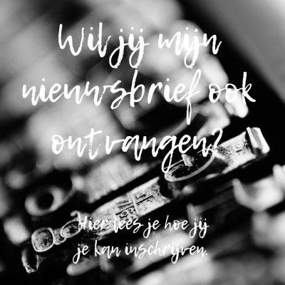 Stampin' Up! – Happy Stampin' – Wil jij mijn nieuws brief lezen? Zo schrijf jij je in.