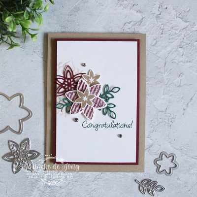 Stampin' Up! – Happiness Surrounds – Congratulations