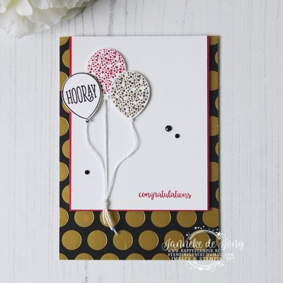 Stampin' Up! – Happy Birthday Gorgeous – Congratulations