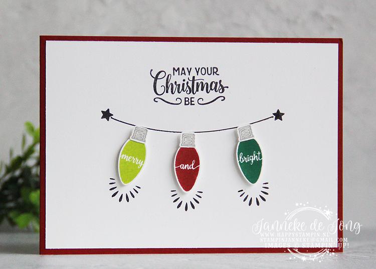 Stampin' Up! - Janneke de Jong - Making Christmas Bright - Inspiratie en Verkoop van Stampin' Up!