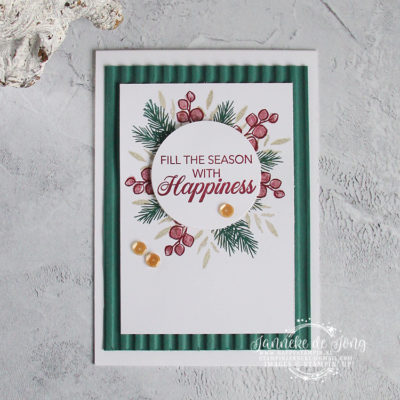 Stampin' Up! – Peaceful Noel – Fill the Season with Happiness