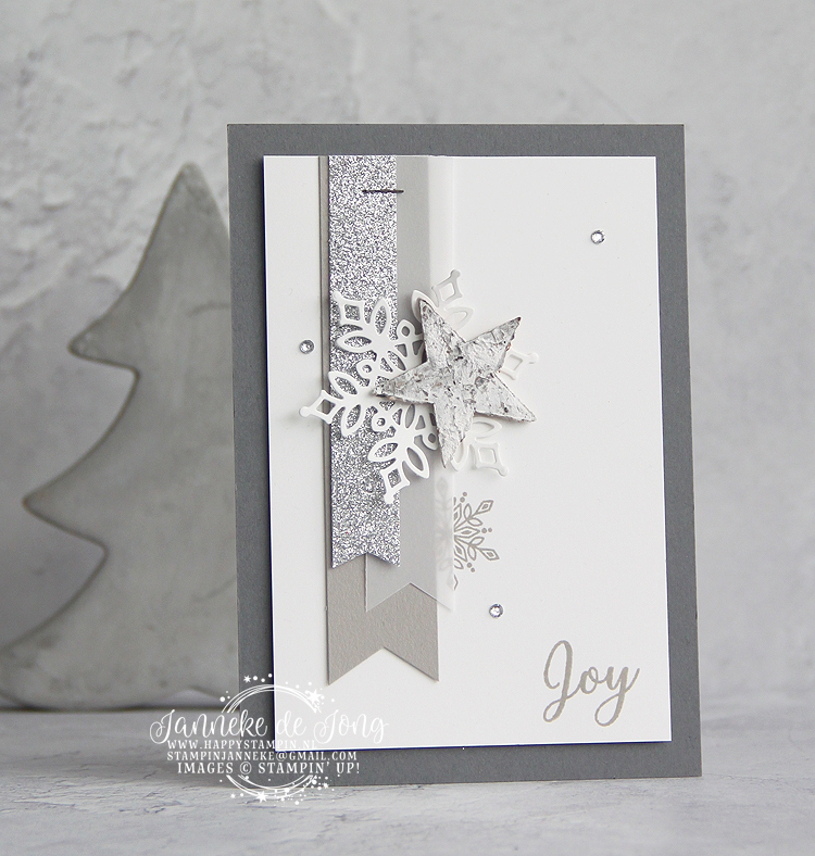 Stampin' Up! - Janneke de Jong - Snow is Glistening - Inspiratie & Verkoop van Stampin' Up!