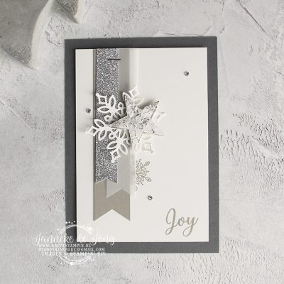Stampin' Up! – Snow is Glistening – Mijn swaps van On Stage
