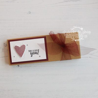 Stampin' Up! – Takeout Treats – This is for you