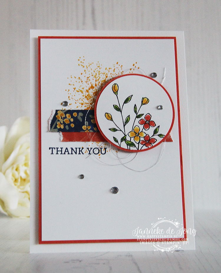 Stampin' Up! - Janneke de Jong - Touches of Textures - Inspiratie & Verkoop van Stampin' Up!