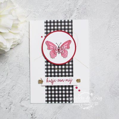 Stampin' Up! – Vlinderdans – Kusje van mij