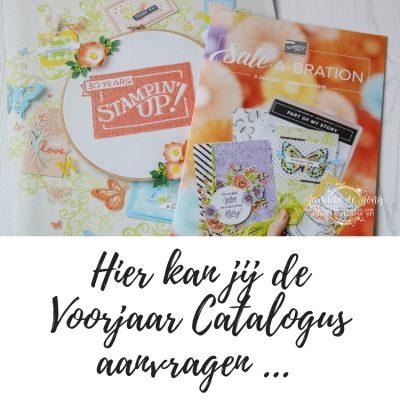 Stampin' Up! – Voorjaars catalogus aanvragen ;-)