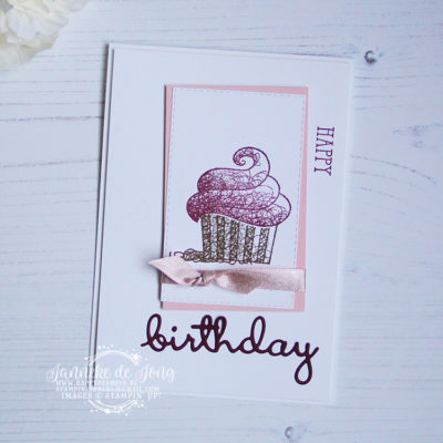 Stampin' Up! – Hello Cupcake – Happy Birthday