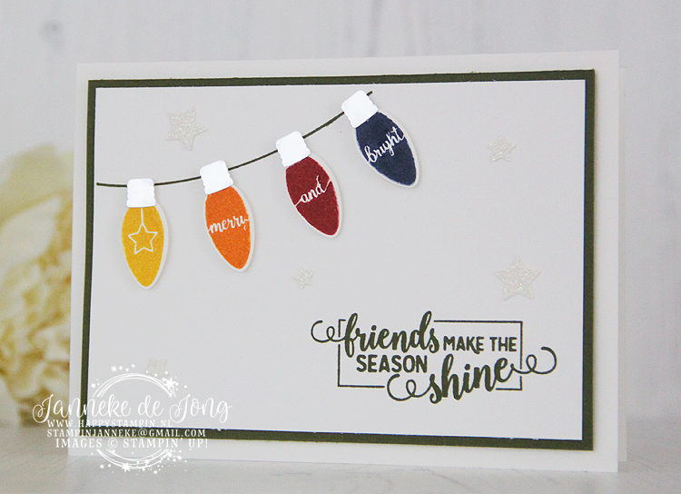 Stampin' Up! - Janneke de Jong - Making Christmas Bright - Inspiratie en Verkoop van Stampin' Up!