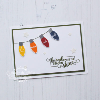 Stampin' Up! – Making Christmas Bright – Friends make the season shine