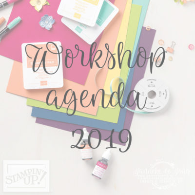 Stampin' Up! – Workshops in 2019