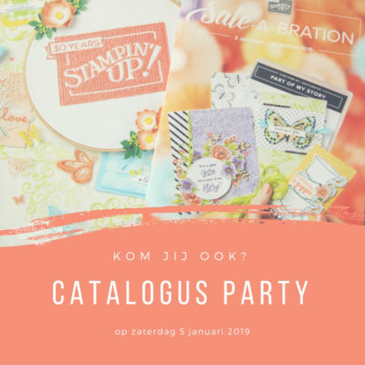 Stampin' Up! – Catalogus party, kom jij ook?