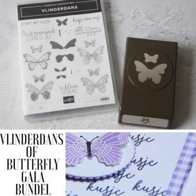 Stampin' Up! – Vlinderdans – Stamping Tutorial pakket #1