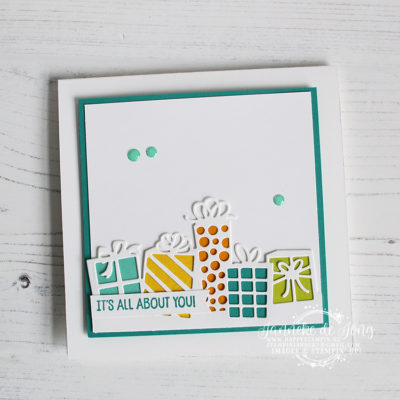 Stampin' Up! – Birthday Cheer – It's all about you