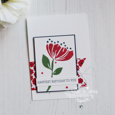 Stampin' Up! – Bloom by Bloom – Happiest of Birthday to you