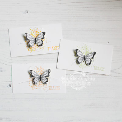 Stampin' Up! – Botanical Butterfly – Thanks