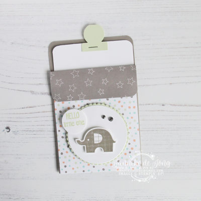 Stampin' Up! – Little Elephant – Hello, little one