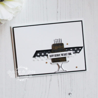 Stampin' Up! – Piece of Cake – Happy Birthday