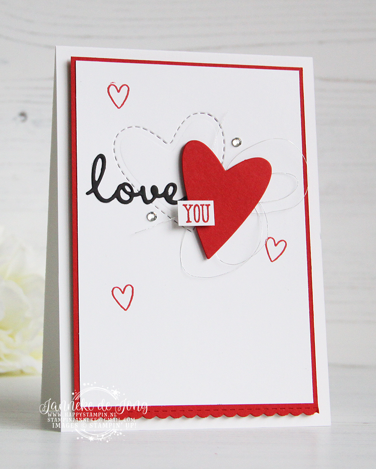 Stampin' Up! - Janneke de Jong - Be Mine - Inspiratie en Verkoop van Stampin' Up!