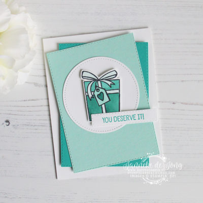 Stampin' Up! – Birthday Cheer- You deserve it!