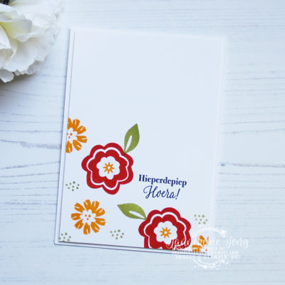 Stampin' Up! – Bloom by Bloom – Hoera