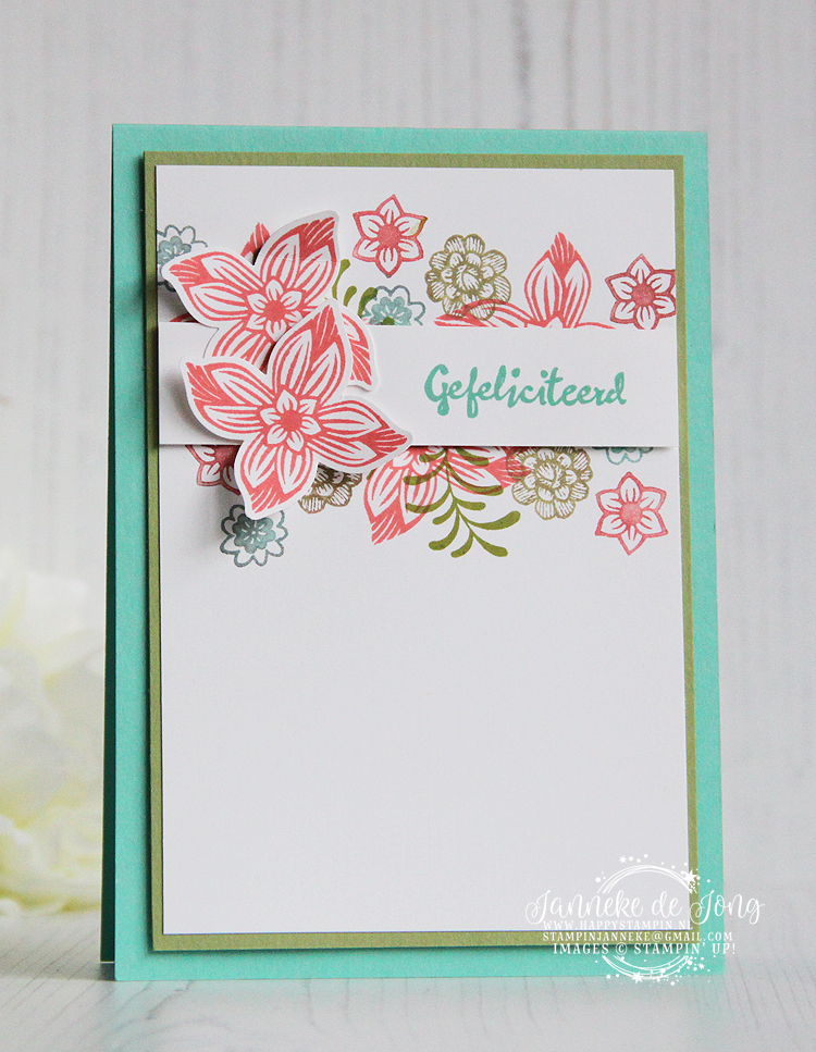 Stampin' Up! - Janneke de Jong - Pop of Petals - Inspiratie, workshops en verkoop van Stampin' Up!