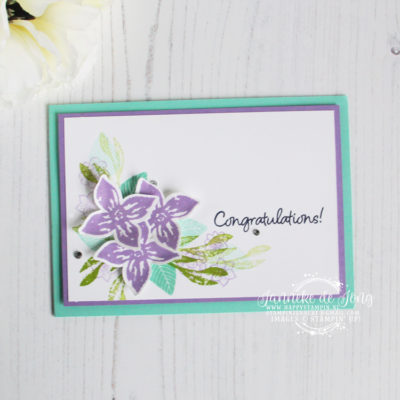 Stampin' Up! – Pop of Petals – Congratulations